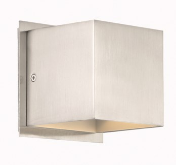 Louis Wall Sconce in Satin Nickel