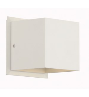 Louis Wall Sconce in White Matte