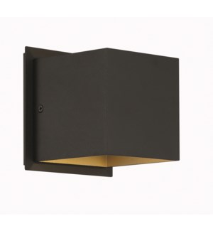 Louis Wall Sconce in Black Matte