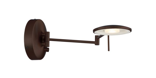 Dessau Turbo Wall Mount in Bronze