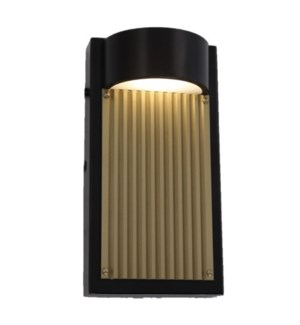 Las Cruces Small Outdoor Wall Sconce in Bronze