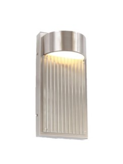 Las Cruces 9 Light Wall Sconce in Satin Nickel