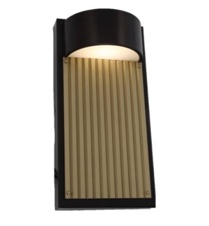 Las Cruces Large Outdoor Wall Sconce in Bronze