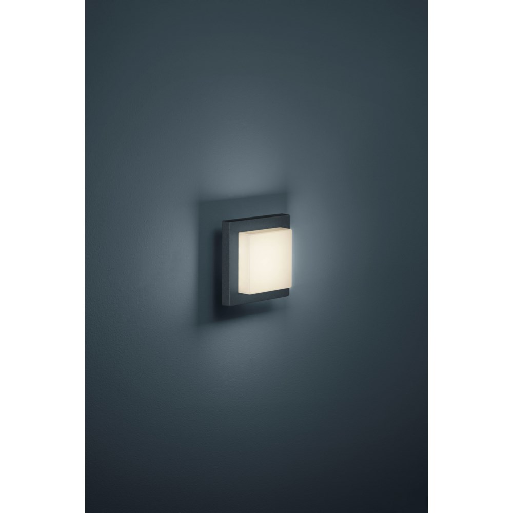 Hondo Wall/Ceiling Mount in Charcoal