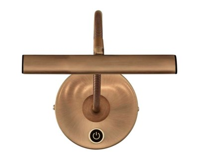 Curtis Picture Light in Antique Brass