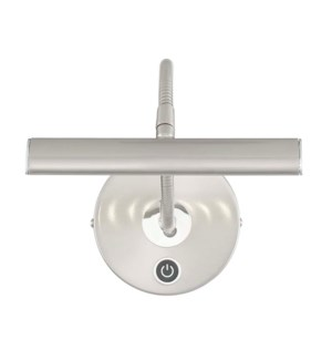 Curtis Picture Light in Satin Nickel