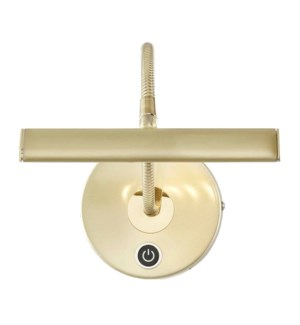 Curtis Picture Light in Satin Brass