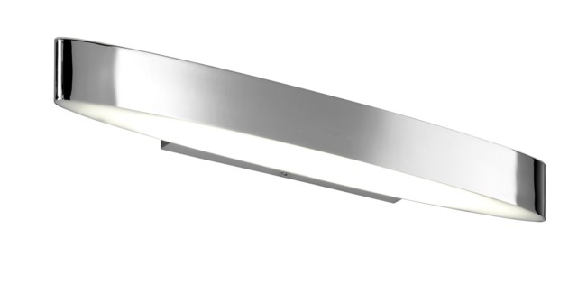 H2O Straight Wall Sconce in Chrome