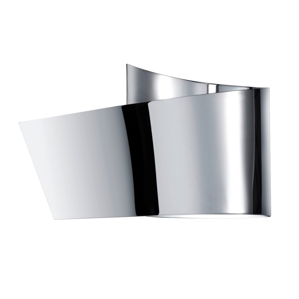 H2O Ribbon Wall Sconce in Chrome