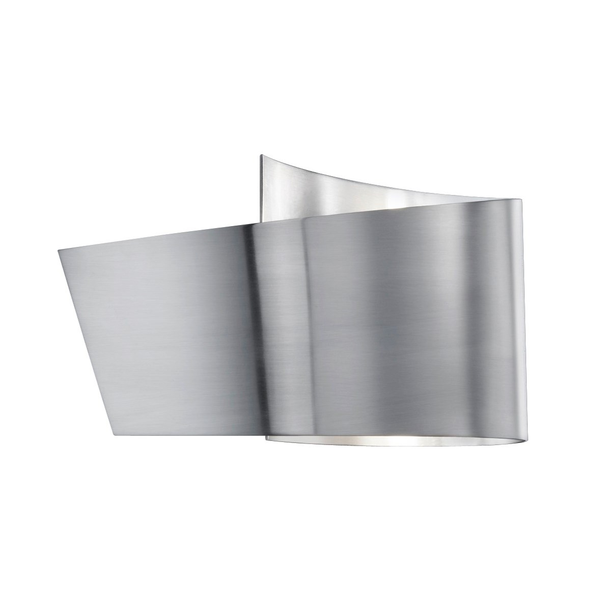 H2O Ribbon Wall Sconce in Satin Nickel