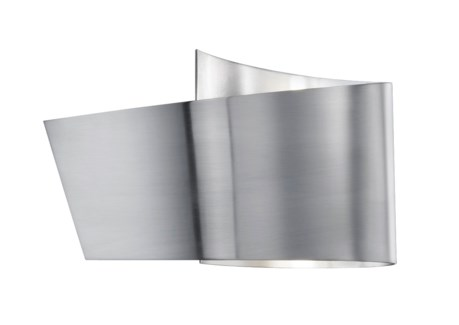 H2O Ribbon Wall Sconce in Satin Nickel