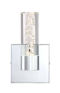 H2O 1 Light Long Wall Sconce in Chrome