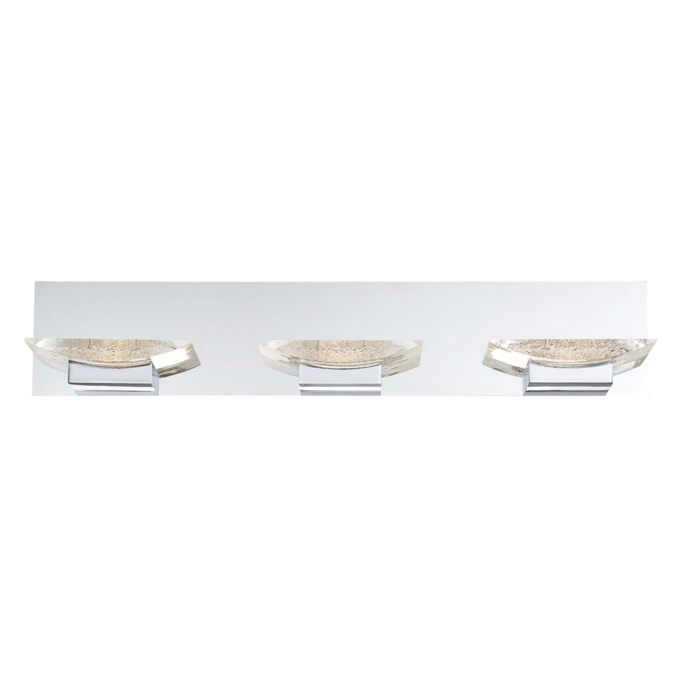 H2O 3 Light Wall Mount in Chrome
