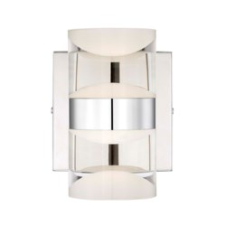 H2O 2 Light Wall Sconce in Chrome