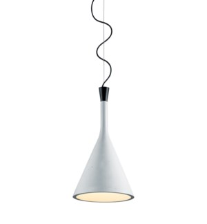 Roddik Large Pendant in Museum Gray