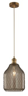 Margit Pendant in Antique Brass