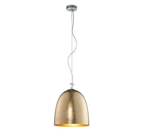 Ontario Large Pendant in Gold Plated