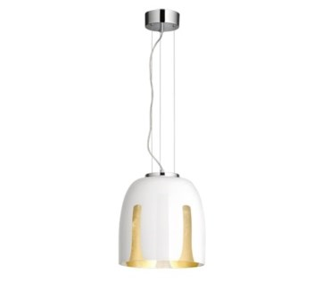 Madeira Small Pendant in White