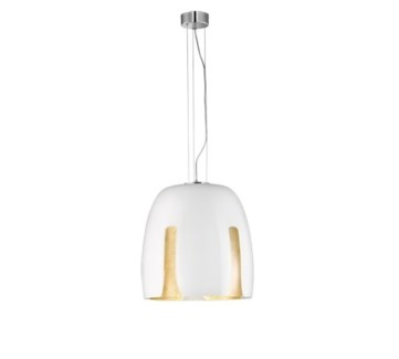 Madeira Large Pendant in White