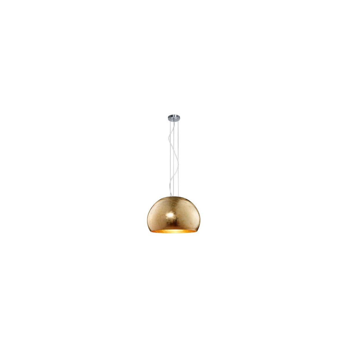 Ontario Dome Pendant in Gold Plated