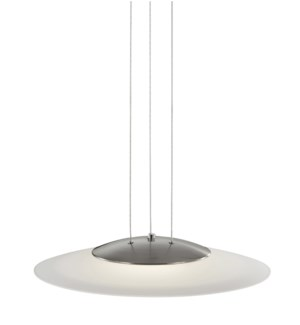 Dakar Pendant in Satin Nickel