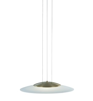 Dakar Pendant in Satin Brass