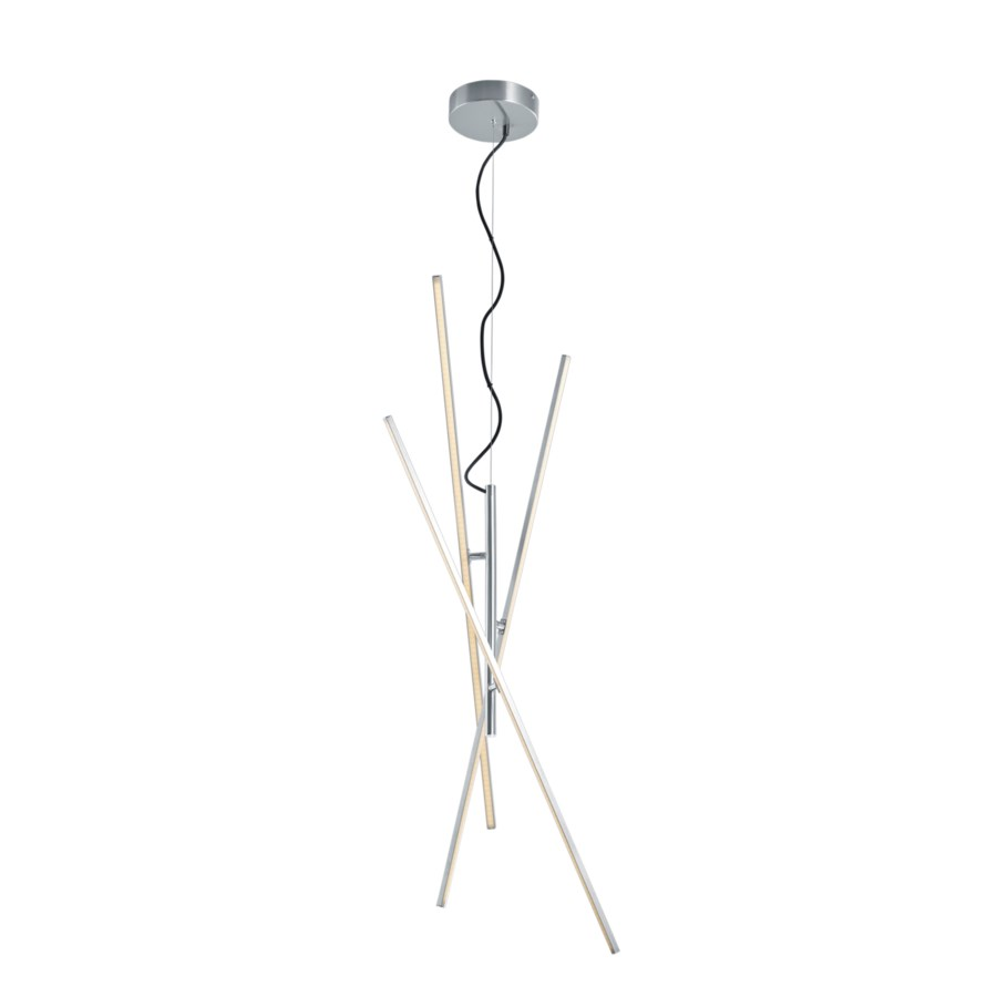 Tiriac Pendant in Satin Nickel