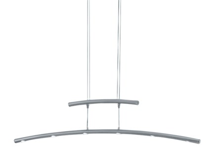 Columbus Pendant in Satin Nickel
