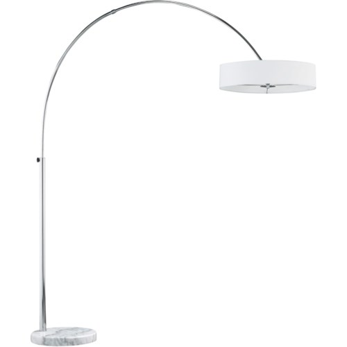 Magdeburg Floor Lamp in White