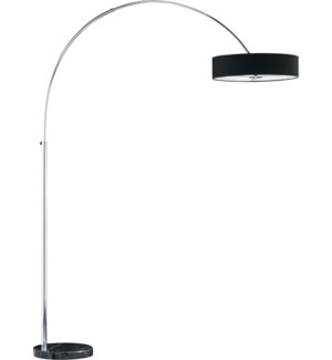 Magdeburg Floor Lamp in Black