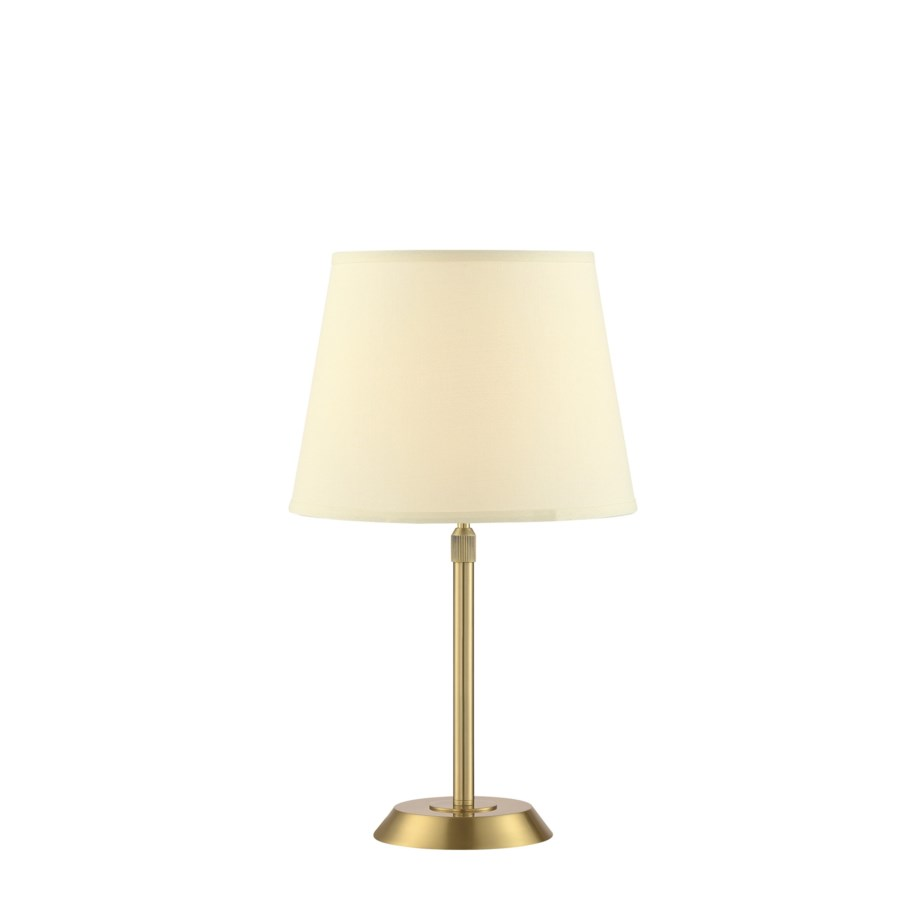 Attendorn Table Lamp with 2 Shades in Satin Brass