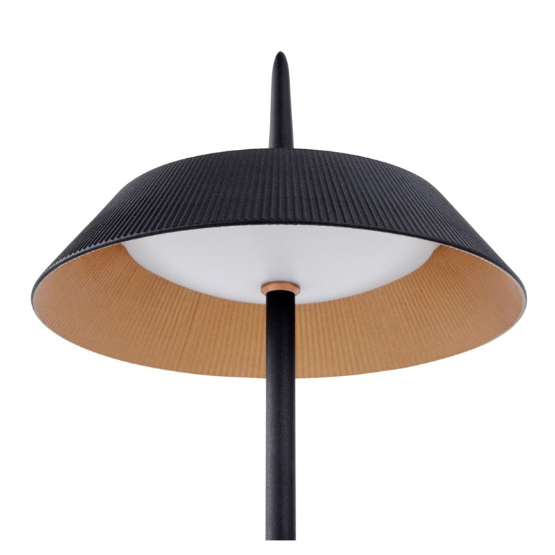 Santa Monica Desk Lamp in Black Matte