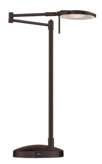 Dessau Turbo Swing-Arm Lamp with USB in Bronze