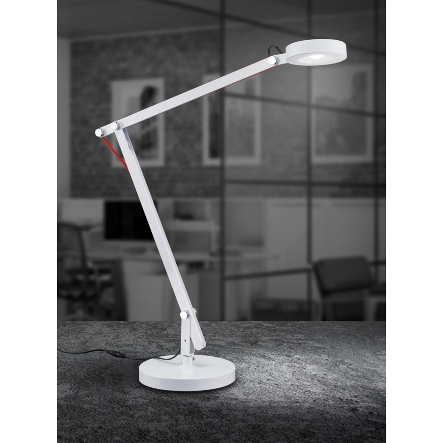 Amsterdam Table Lamp in White