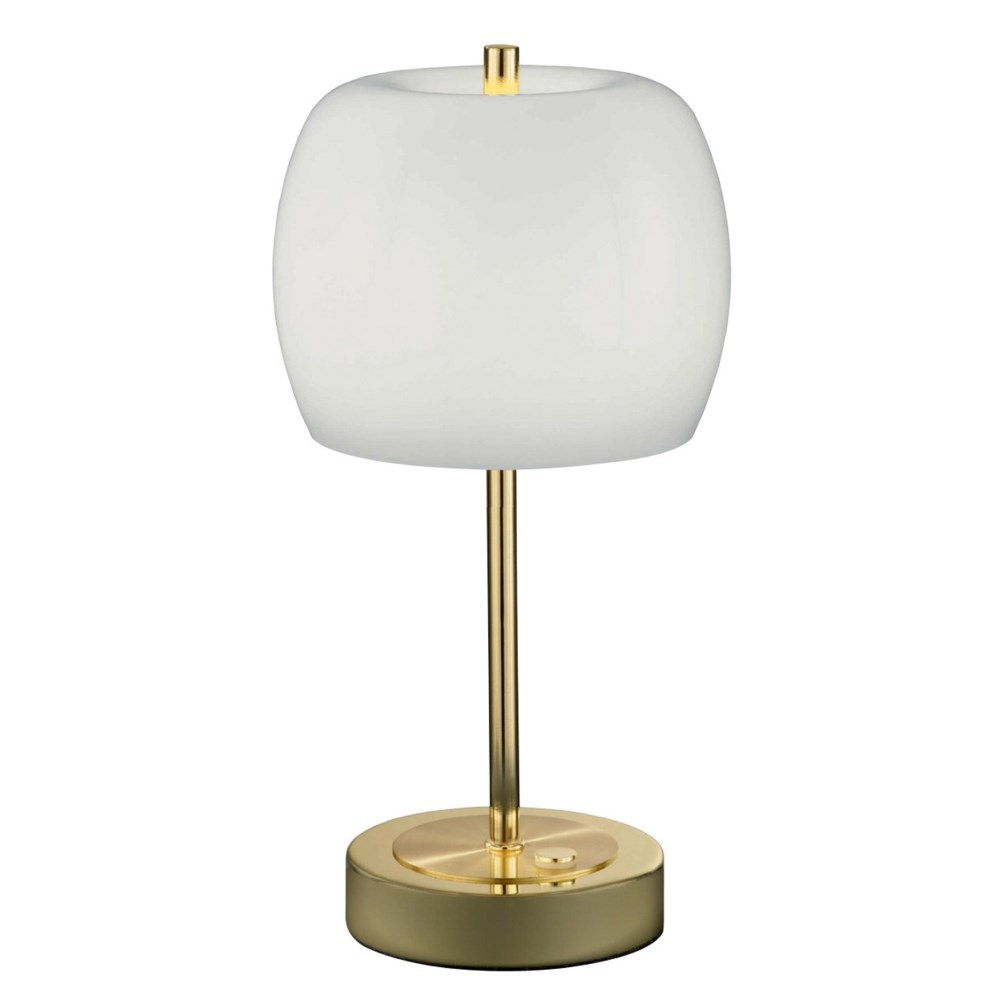 Pear Small Table Lamp in Polished Brass
