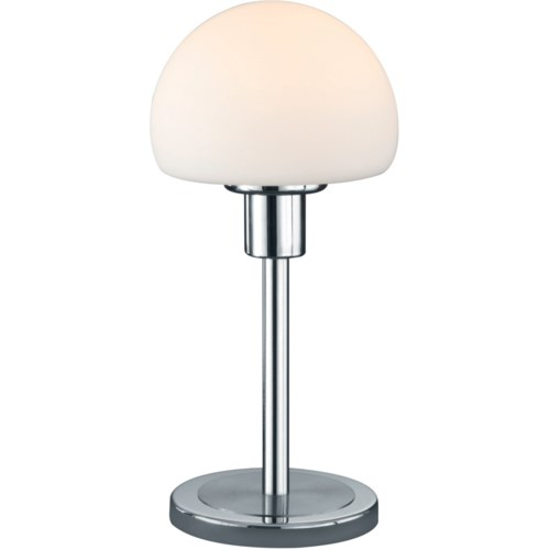 Wilhelm Table Lamp in Satin Nickel