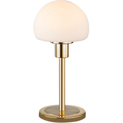 Wilhelm Table Lamp in Satin Brass