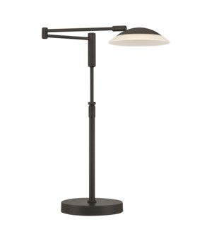 Meran Turbo Table Lamp in Museum Black