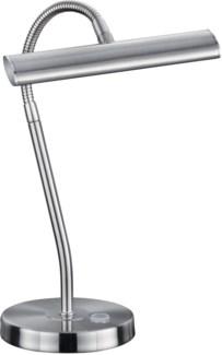 Curtis Desk Lamp in Satin Nickel