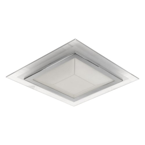 """""""Pyramid 12"""""""" Ceiling Mount in Chrome"""""""