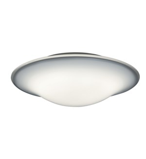 """""""Milano 18"""""""" Ceiling Mount in White Matte"""""""