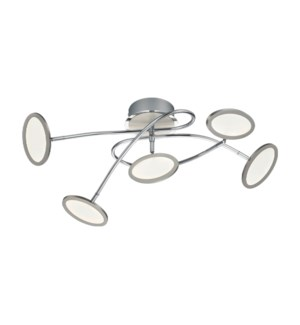 Duellant Ceiling Mount in Chrome