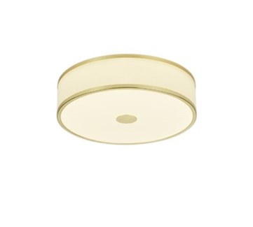 Agento Ceiling Mount in Satin Brass