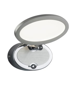 Duellant 1 Light Ceiling Mount in Chrome