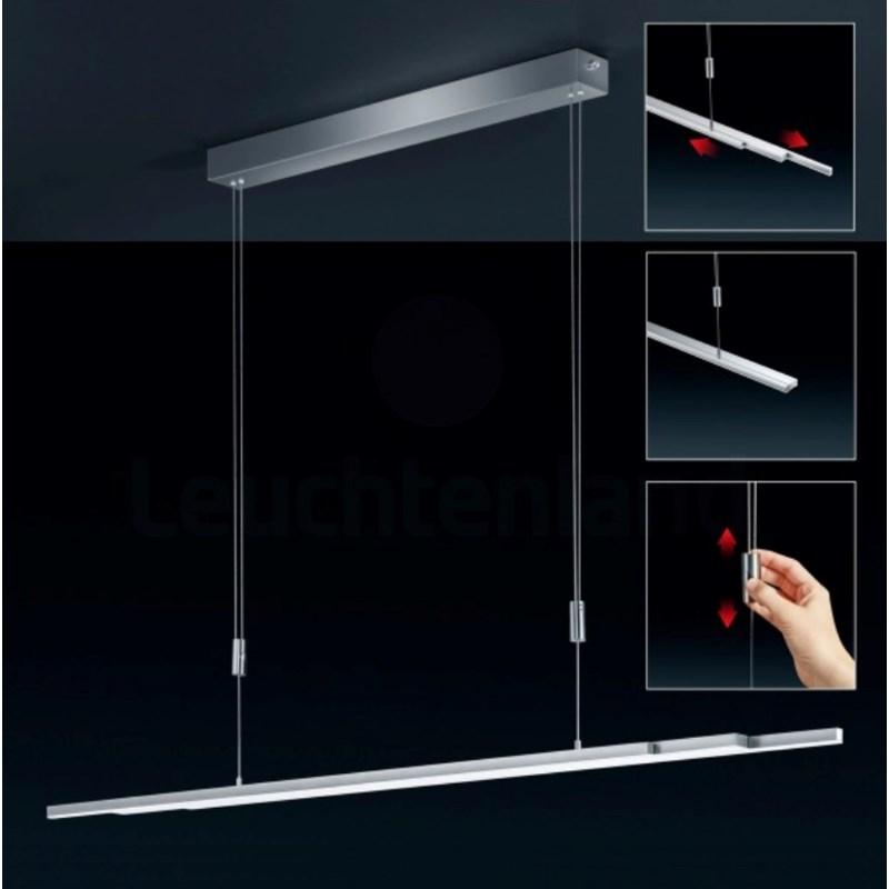 L-Light Line Extendable Pendant Satin Nickel