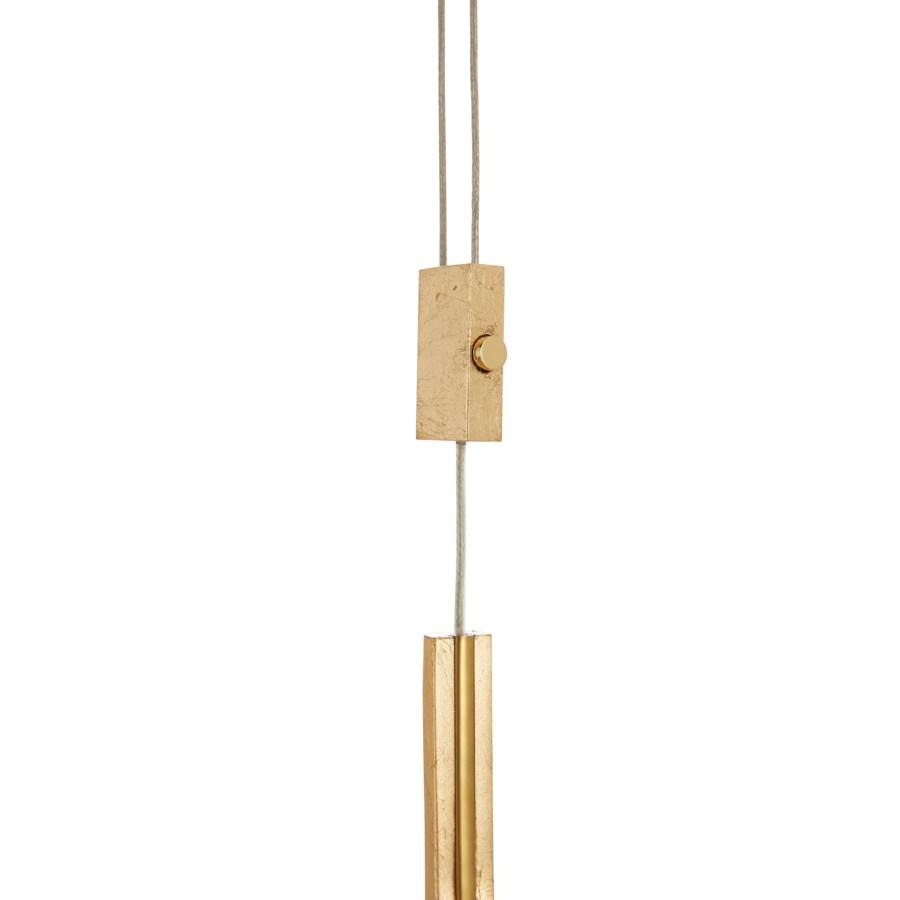 Ghia Line Suspension in Gold Leaf
