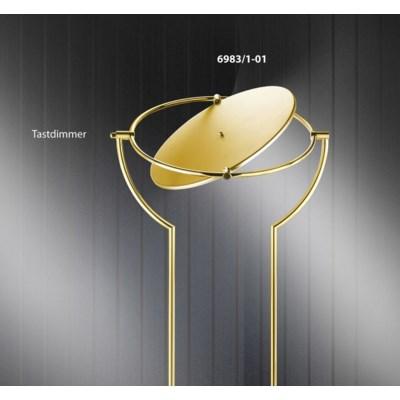 Astoria Floor Lamp in Satin Brass