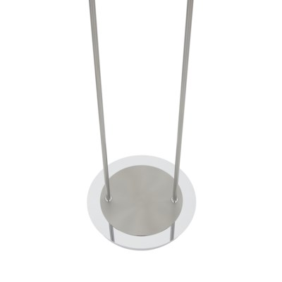 Astoria Floor Lamp in Satin Nickel