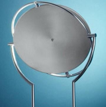 Astoria Floor Lamp in Satin Nickel