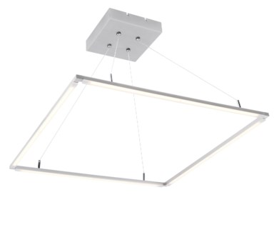 Slim Ceiling Fixture in Chrome
